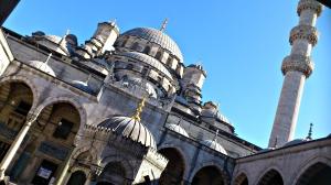 mezquita Yeni pte. Gálata patio interior