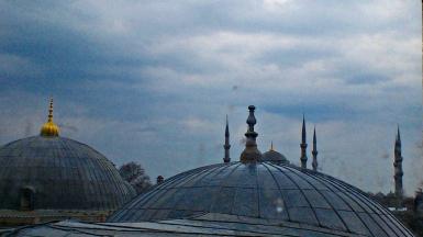 santa sofía cúpulas